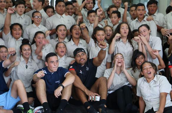 Pōwhiri for the NZ Warriors